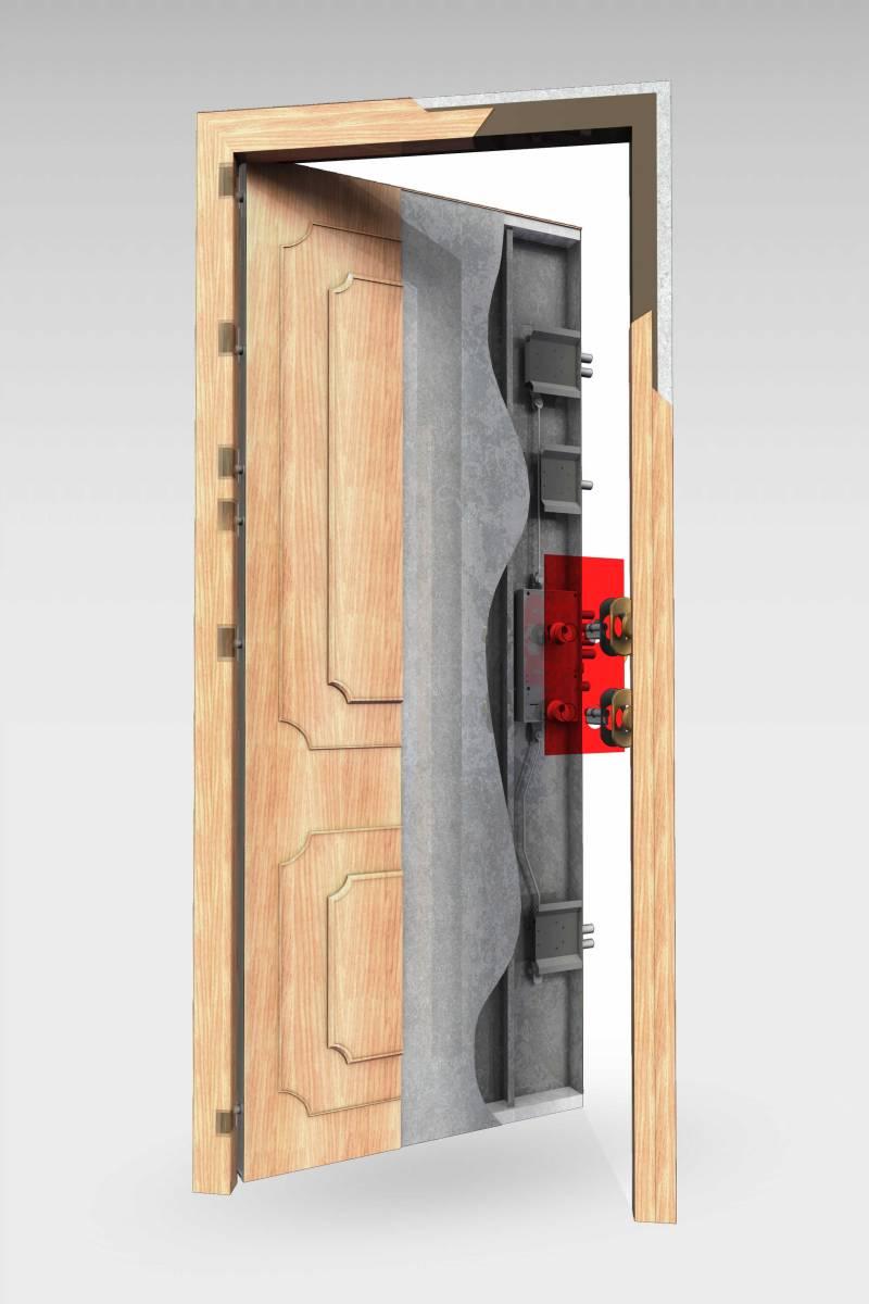 Puerta acorazada 350 roconsa - Puertas kiuso ...