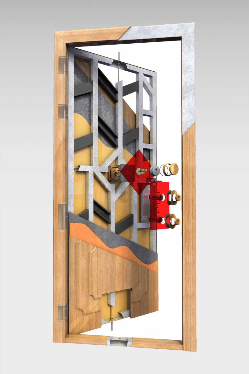 Puerta acorazada imperial roconsa - Precios puertas acorazadas ...