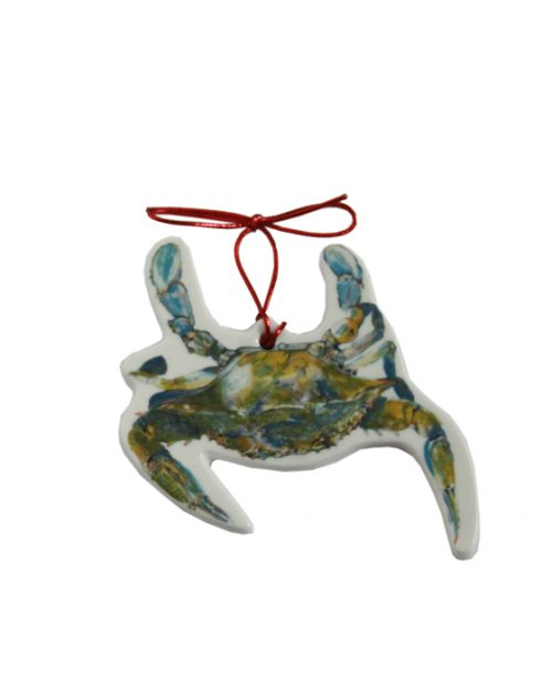 swimmer christmas ornament