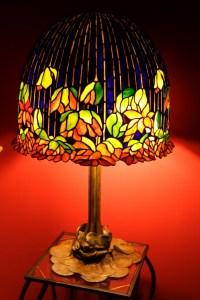 "Tiffany ""Flowering Lotus"" Lamp, Museum Quality ..."