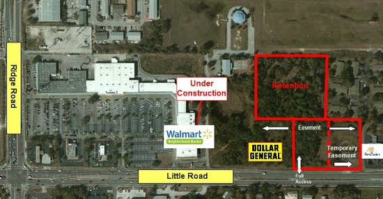 Land Available For Sale @ 8547 Little Rd, New Port Richey, FL 34654
