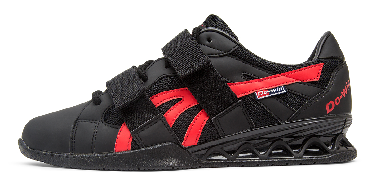 Do Win Weightlifting Shoes Black Red Rogue Fitness