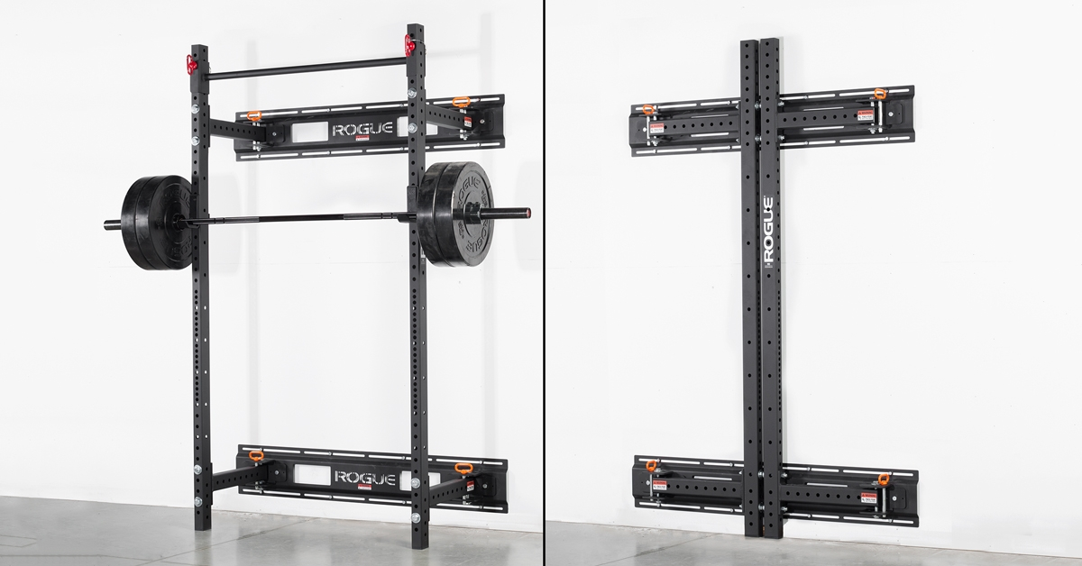 Rogue R 3w Fold Back Wall Mount Rack Made In The Usa