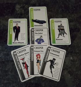 Batman Fluxx Cards