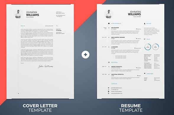 25 Best Free CV Templates PSD, AI, Word DocX Rogue Pony - document desing