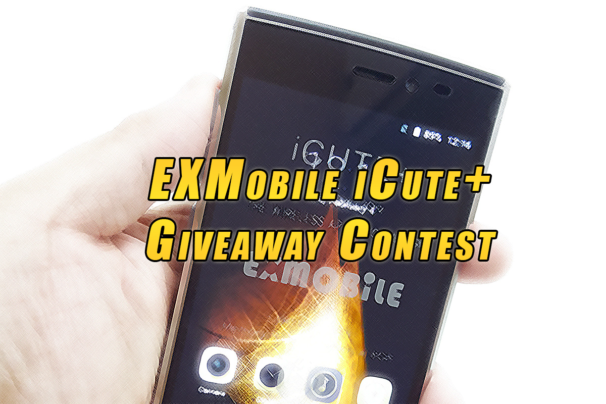 EXMobile iCute Plus Giveaway Contest