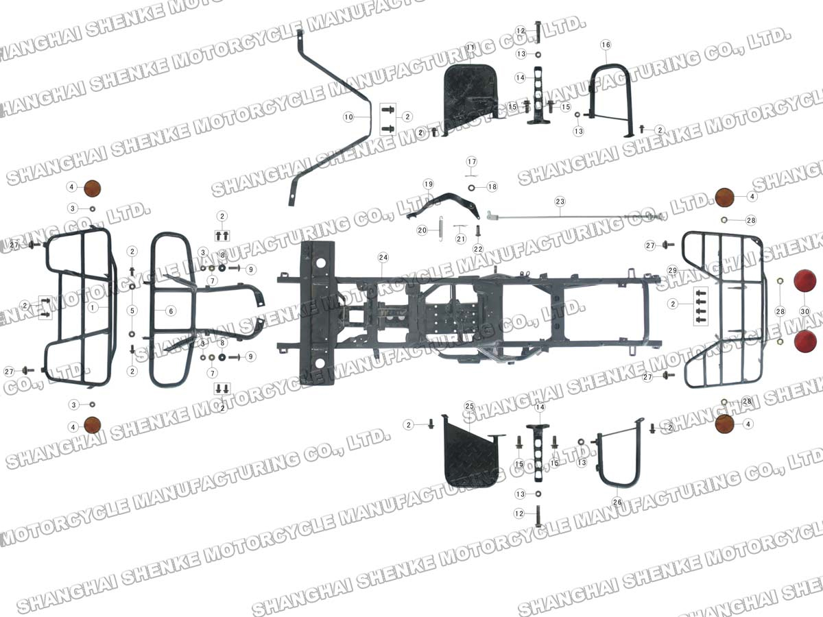 roketa 250 atv wiring diagram
