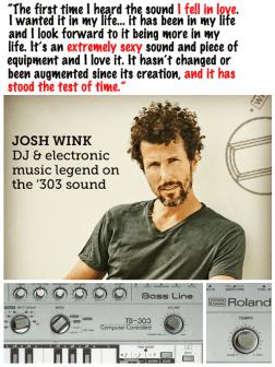 Josh Wink and TB-303