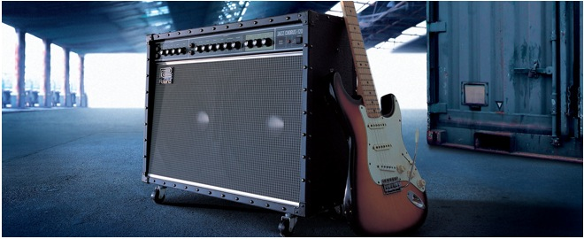 The first guitar amplifier with built-in effects header image