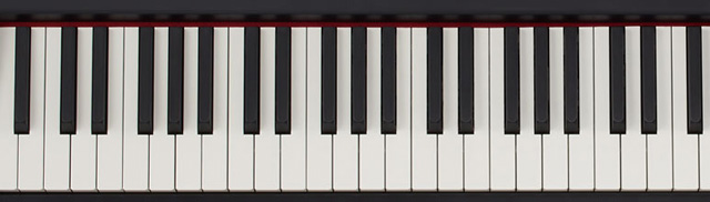 create your own piano tone key bed