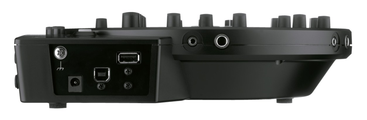 USB Ports on the Roland HS-5 Session Mixer