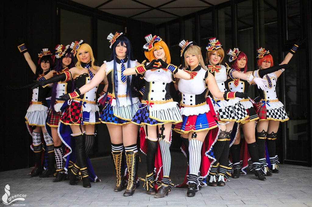 Anime Devil Wallpaper 20 Wonderful Love Live Group Cosplay Rolecosplay