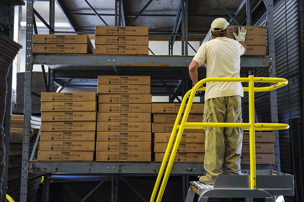 Prefabricated Metal Stairs Aluminum Steps Work