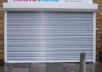 SG75 Galvanised Roller Shutter Door - Shop Front Shutters ...