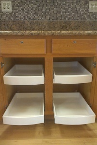 Kitchen Pull Out Shelves - Kitchen Roll Out Drawers - FREE ...