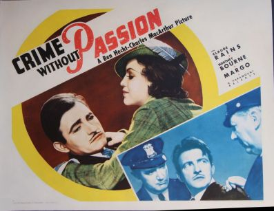 1934-Crime Without Passion