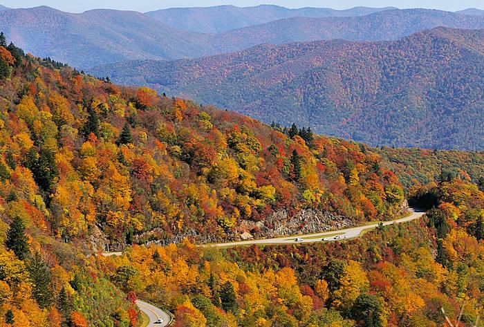 Hd Wallpaper Fall Leaf Change Top 15 Scenic Drives Near Asheville In The Blue Ridge