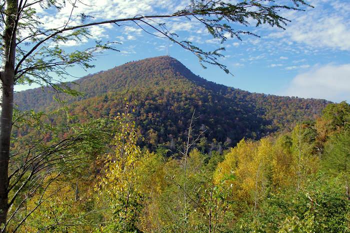 Panoramic Wallpaper Fall Mt Pisgah Hiking Trail North Carolina