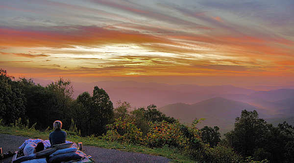 Best Blue Ridge Sunrise  Sunset Spots, Asheville