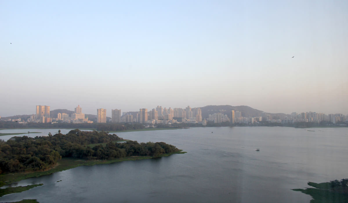 Powai Lake in Mumbai