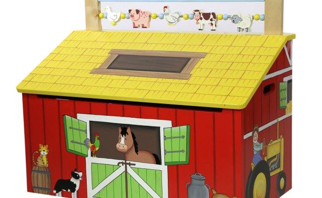 Happy Farm Toy Chest By Teamson Fantasy Fields Toy Box