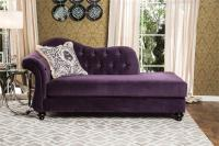 Antionette Purple Sofa Set SM2222