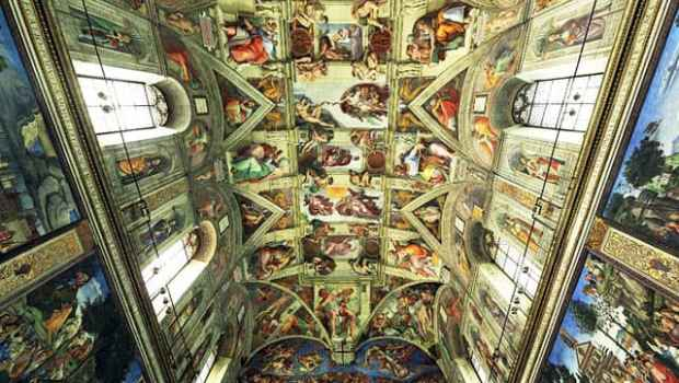Michelangelo's Art in Rome