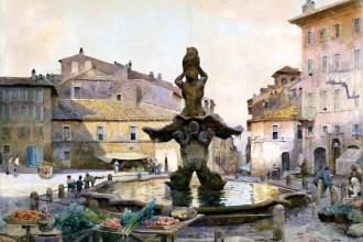La Roma di Ettore Roesler Franz Exhibition at Museo di Roma Trastevere