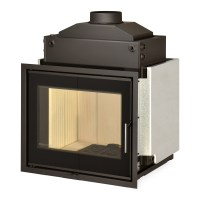 Fireplace insert Romotop KV 6.6.2 HE with hot-water ...