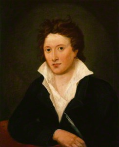 Percy Bysshe Shelley by Amelia Curran, 1819. National Portrait Gallery