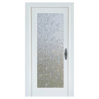 """Static-Cling Window Film - Floral - 32.25"""" x 78""""- Clear 