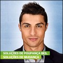 Cristiano Ronaldo BES Bank Wallpaper And Marketing Poster In
