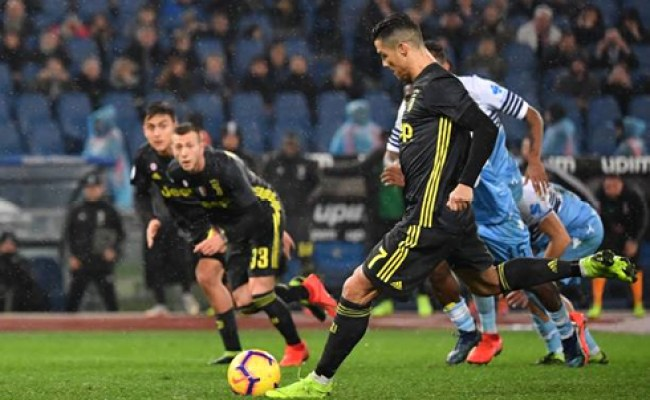 Lazio 1 2 Juventus Cancelo And Ronaldo Turn It Around For