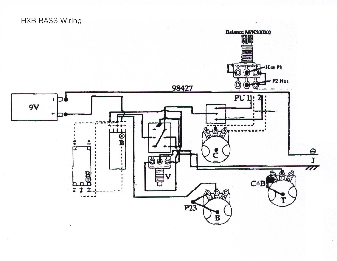 active jazz bass wiring diagram