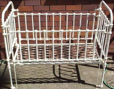 Antique Iron Baby Bed Best 2000 Antique Decor Ideas