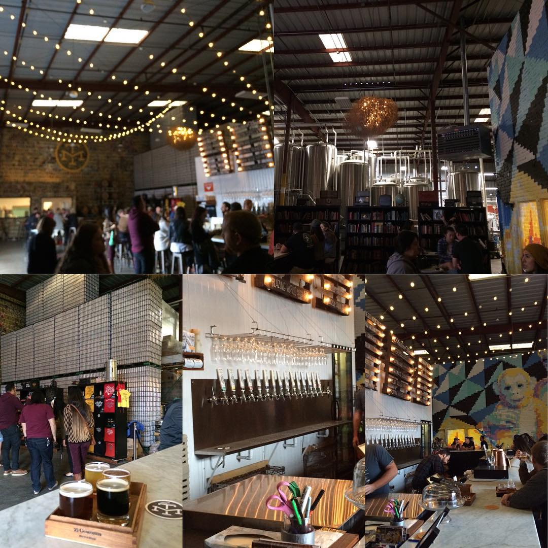 OMG! What a beautiful beautiful taproom/brewery! Amazing! #SF #sdbw2015 #moderntimes #taproom