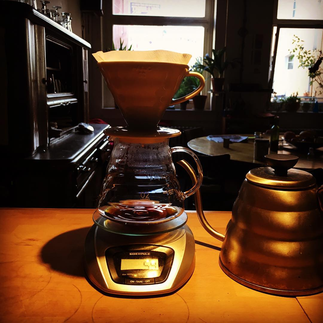 Beautiful fruity berry like @machhoerndl Coffee #v60 #ethopia #sasaba #Düsseldorf #coffeelove