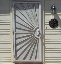 Security Doors: Lowes Custom Security Door