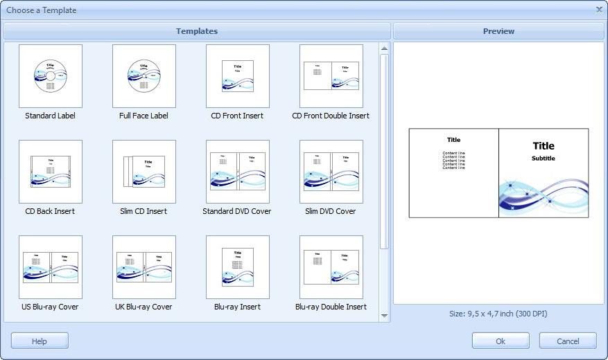 How to make CD cover design
