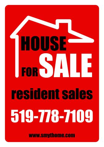 Estate for Sale sign template, How to create an Estate for Sale sign