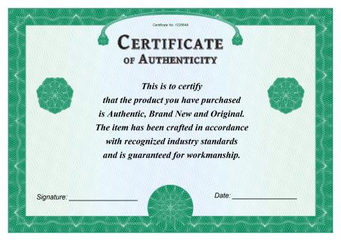 Certificate of Authenticity template, How to create a Certificate of - certificate of authenticity template