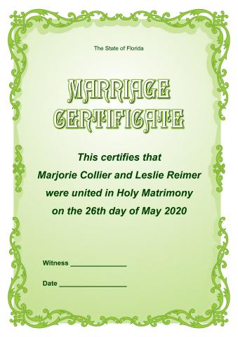 Marriage Certificate template, How to print a Marriage Certificate - marriage certificate template