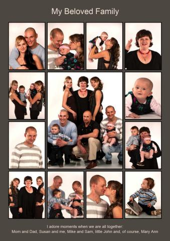 Download Collage templates, create photo collages