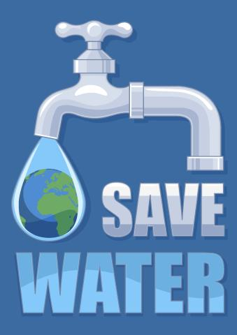 Save Water poster template, How to make a Save Water poster