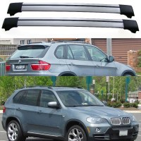 BMW X5 E70 5dr 4x4 2007+ Aero Cross Bars Set Roof Rack ...
