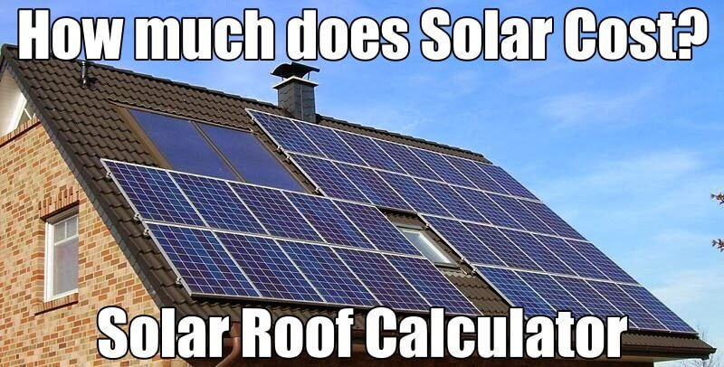 Solar Roofing Calculator