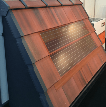 Solar Pv Tiles Fit Alongside Standard Roof Tiles Roofing