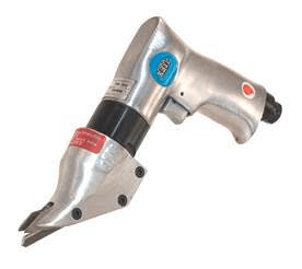 Kett Tool delivers maneuverability, flexibility and speed for making smooth, burr-free cuts in cold rolled (C.R.) mild steel, stainless steel and aluminum with the double-cutting action of the P-540 Double-Cut Shears.
