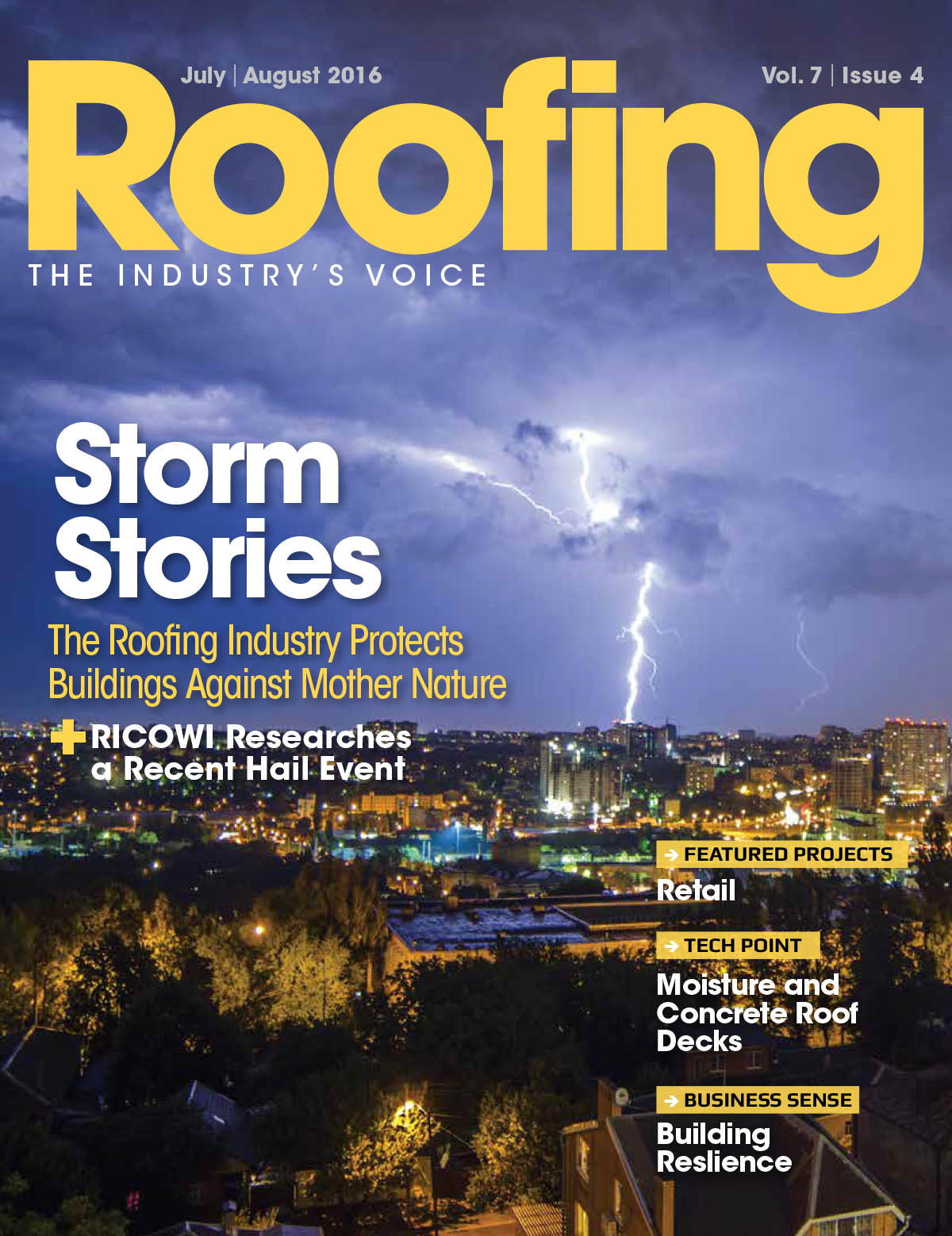 Roofing July/August 2016