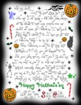 Happy Halloween Letter from Father Christmas!